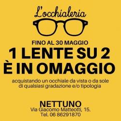 🛑 1 LENTE SU 2 È IN OMAGGIO 🛑  L'occhialeria NETTUNO Via Giacomo Matteotti 15